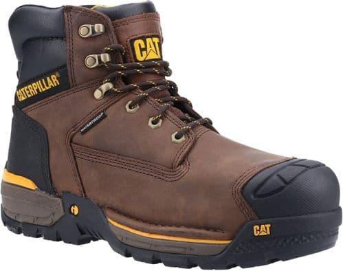Caterpillar Excavator Hiker Safety Footwear Espresso